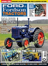 Ford & Fordson Tractors - April/May 2020