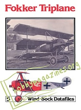 Windsock Datafile 05 - Fokker Triplane