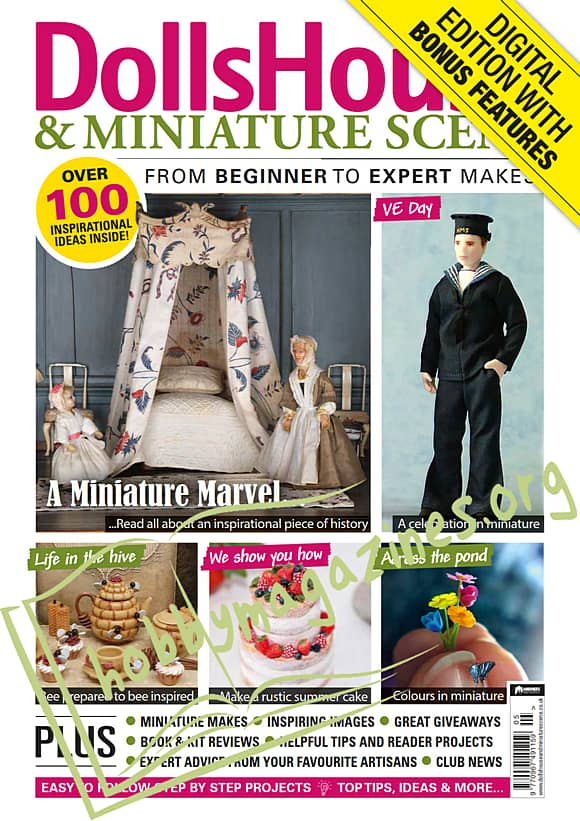 Dolls House & Miniature Scene - May 2020
