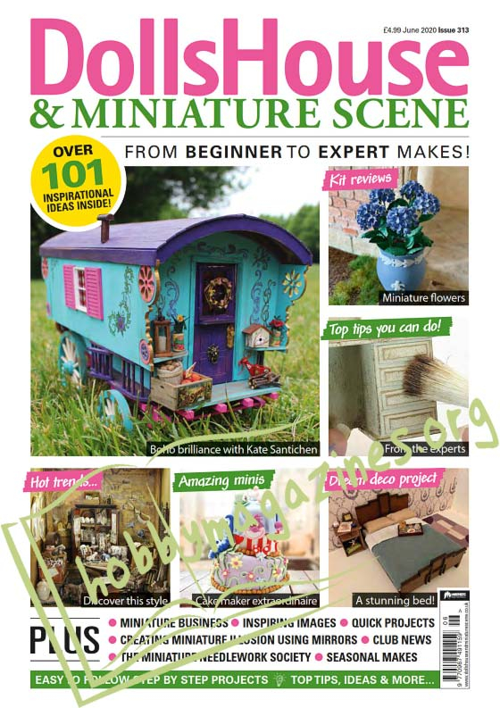 Dolls House & Miniature Scene - June 2020