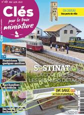 Clés pour le train miniature - Mai/Juin 2020