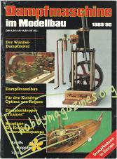 Dampfmaschine im Modellbau 1989/90