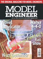 Model Engineer - 22 May 2020
