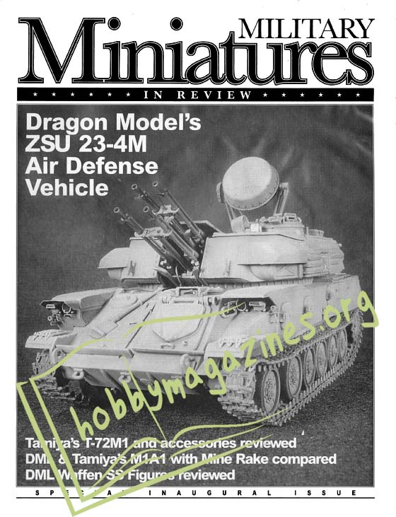 Military Miniatures in Review Pilot Issue