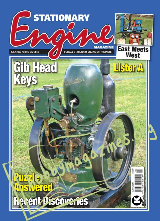 Stationary Engine July 2020