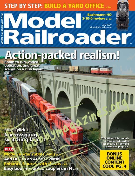 Model Railroader - July 2020