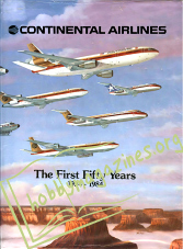 Continental Airlines.The First Fifty Years 1934-1984