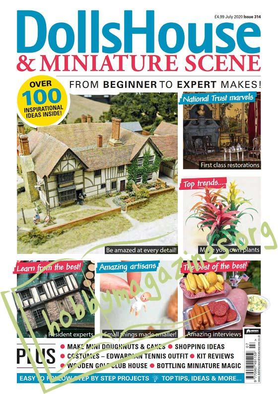 Dolls House & Miniature Scene - July 2020
