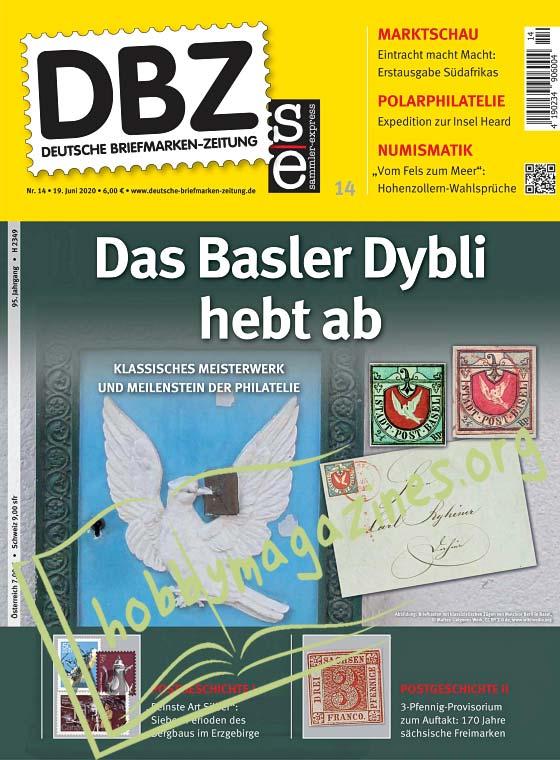Deutsche Briefmarken-Zeitung – 19 Juni 2020