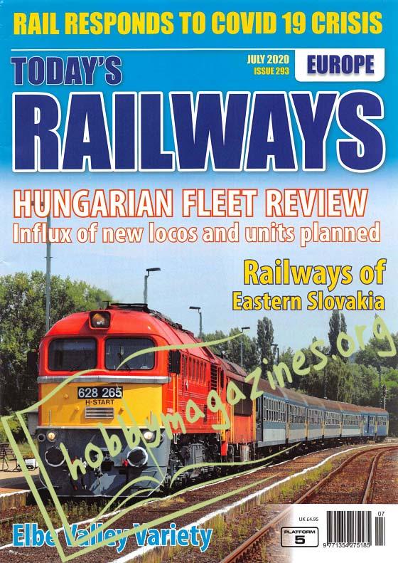 Today's Railways Europe - July 2020