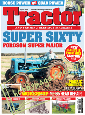 Tractor & Farming Heritage Magazine - August 2020