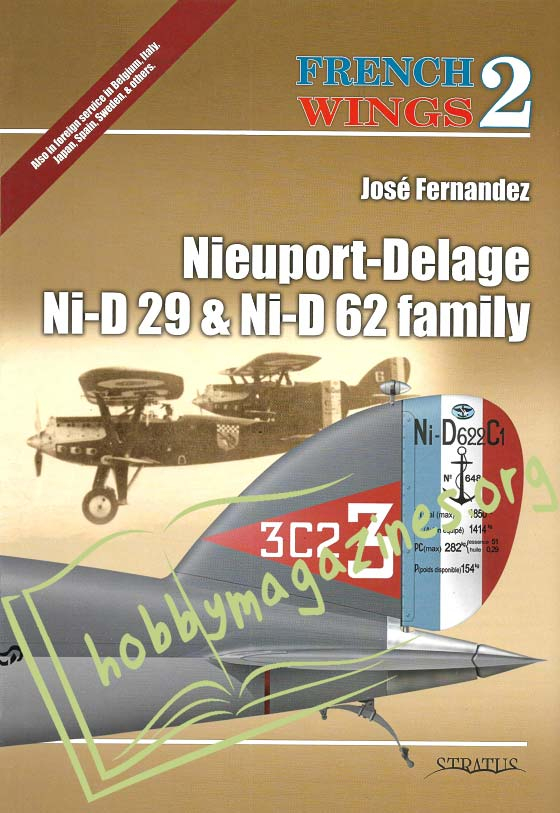 French Wings 2 - Nieuport-Delage Ni-D 29 & Ni-D 62 family