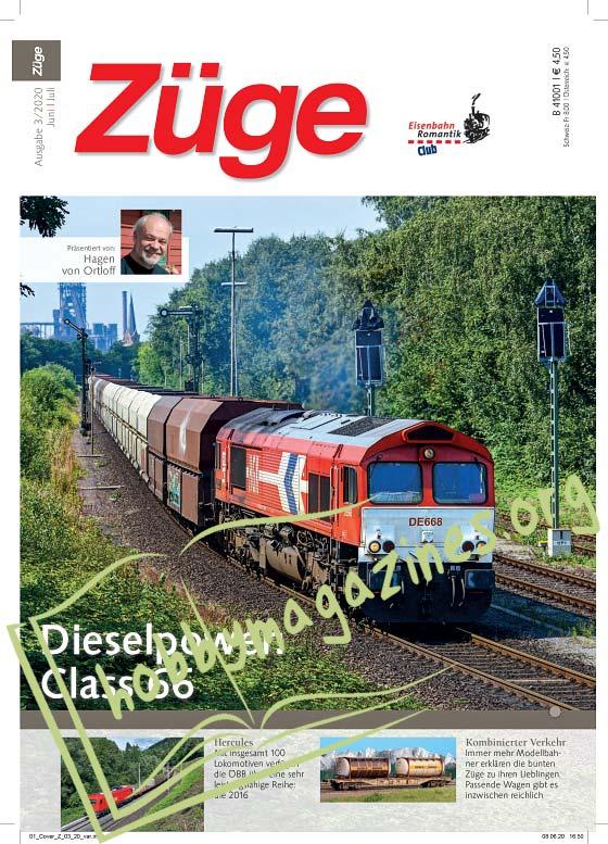 Züge - Juni-Juli 2020