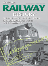 Australian Railway History - July 2020