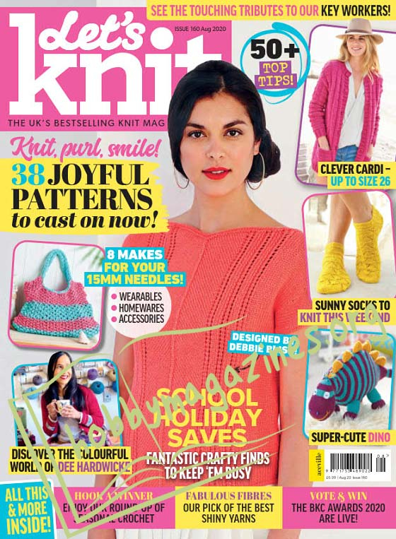 Let's Knit - August 2020