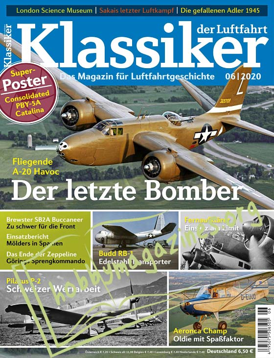 Klassiker der Luftfahrt 2020-06
