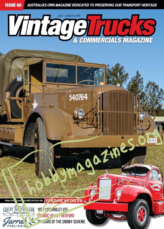 Vintage Trucks & Commercials - July-August 2020