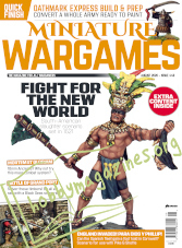 Miniature Wargames - August 2020