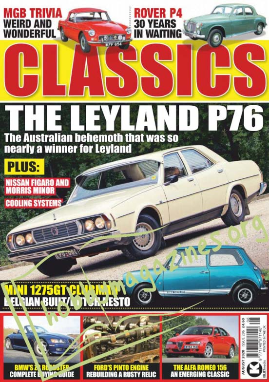 Classics Monthly - August 2020