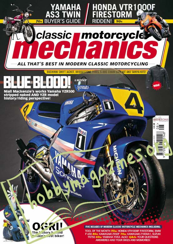 Classic Motorcycle Mechanics - August 2020
