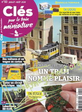 Clés pour le train miniature - Juillet/Août 2020