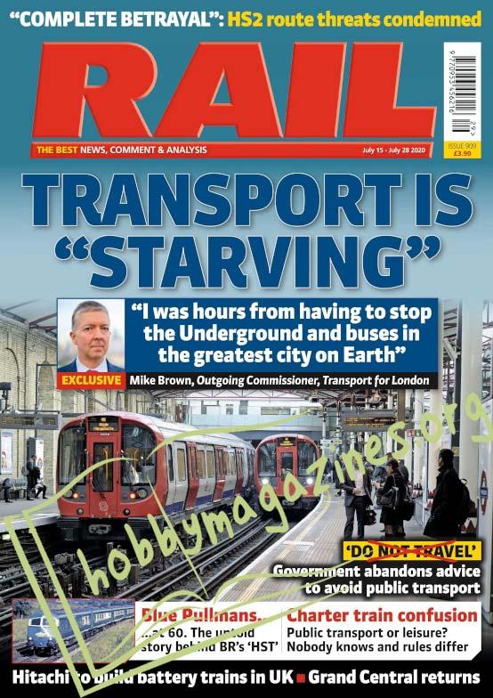 Rail – July 19, 2020
