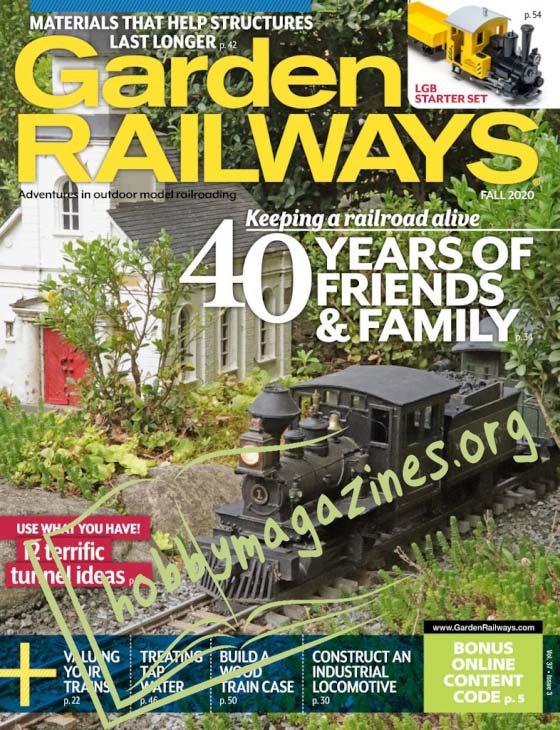 Garden Railways - Fall 2020