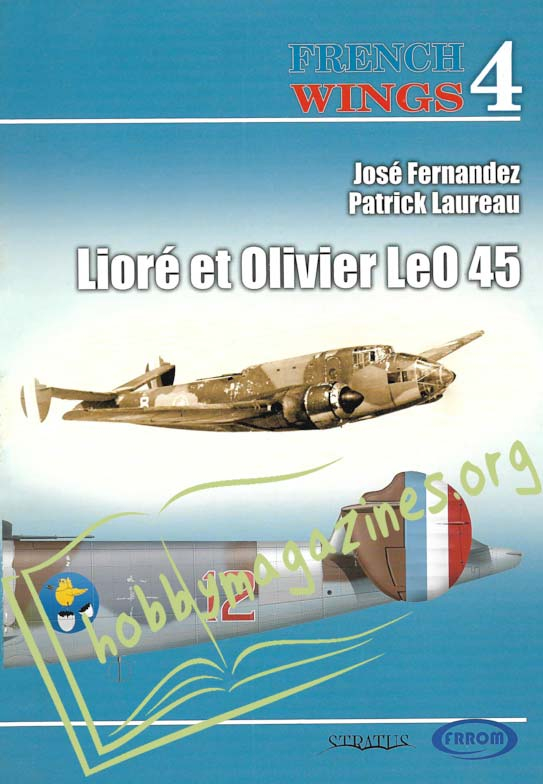 French Wings - Liore et Olivier LeO 45
