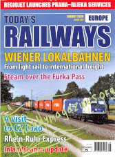 Today's Railways Europe - August 2020