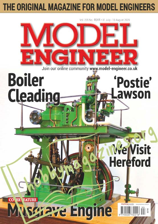 Model Engineer 4644 - 31 July 2020
