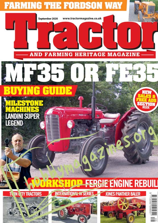 Tractor & Farming Heritage Magazine - September 2020