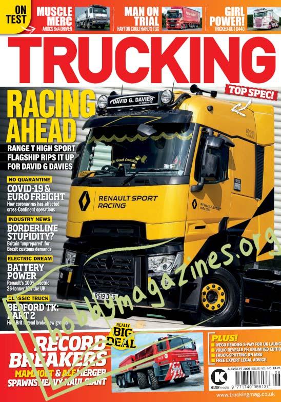 Trucking - August/September 2020