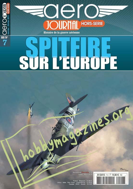 AeroJournal Hors-Serie 07 - Spitfire sur l'Europe
