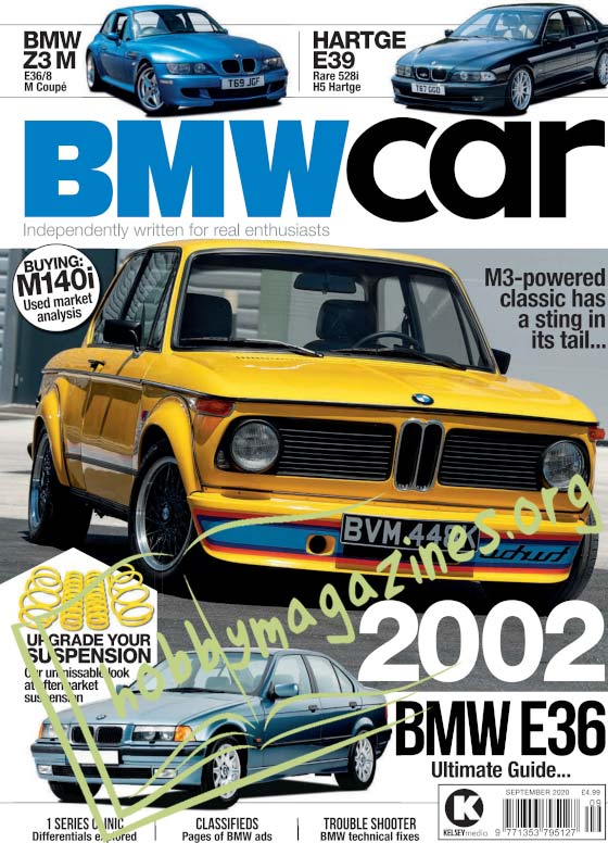 BMW Car - September 2020