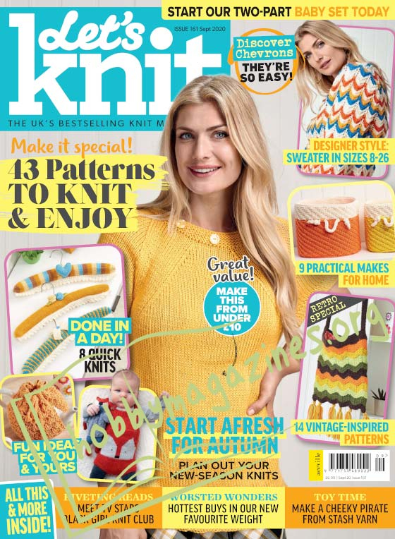Let's Knit - September 2020