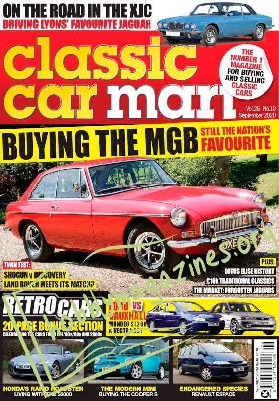 Classic Car Mart - September 2020