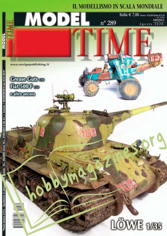 Model Time - Agosto 2020