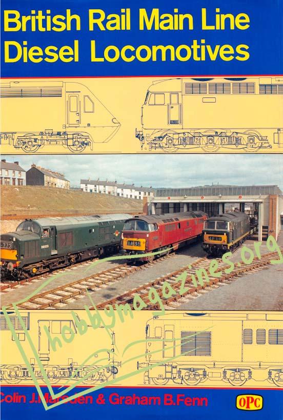 British Rail Main Line Diesel Locomotives