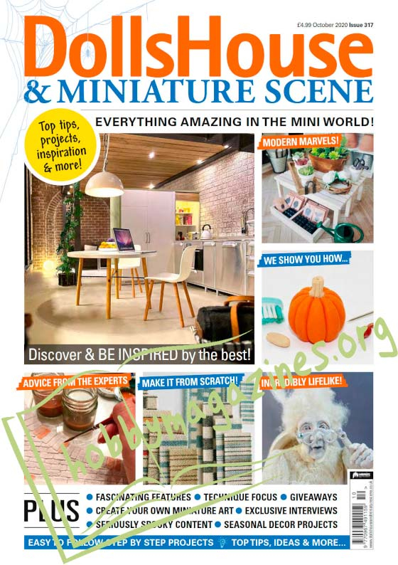 Dolls House & Miniature Scene - October 2020