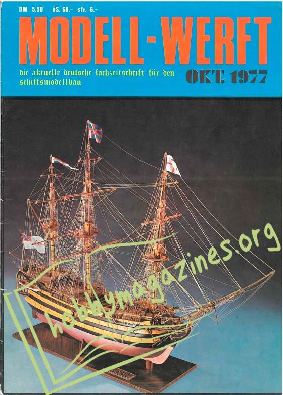 Modell Werft Issue 001 - Oktober 1977