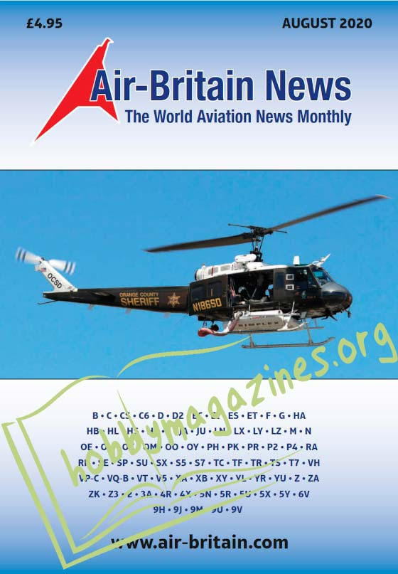 Air-Britain News - August 2020