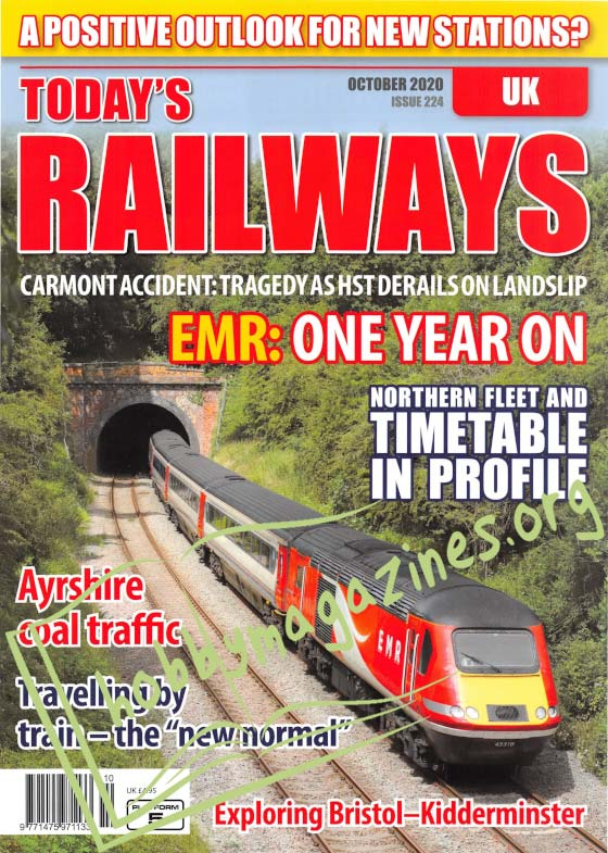 Today's Railways UK - October 2020