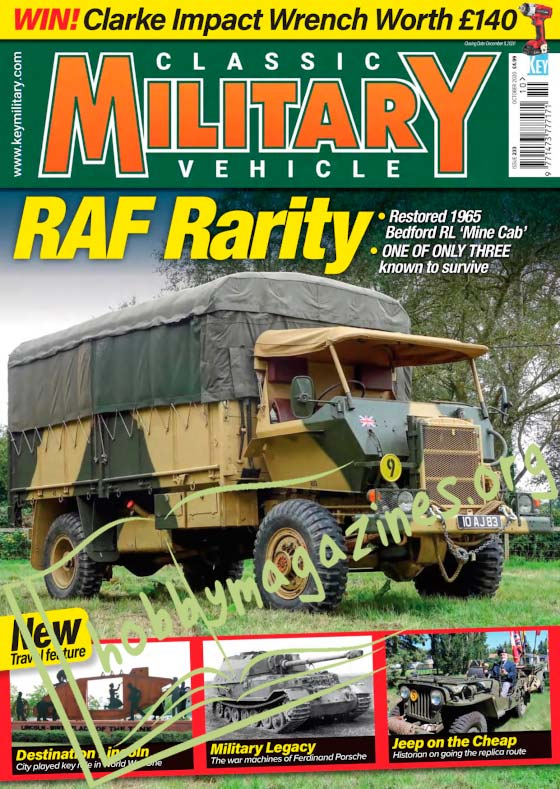 Classic Military Vehicle - October 2020