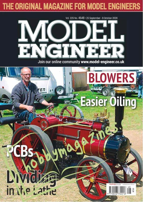 Model Engineer 4648 - 25 September 2020