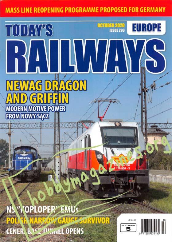 Today's Railways Europe - October 2020