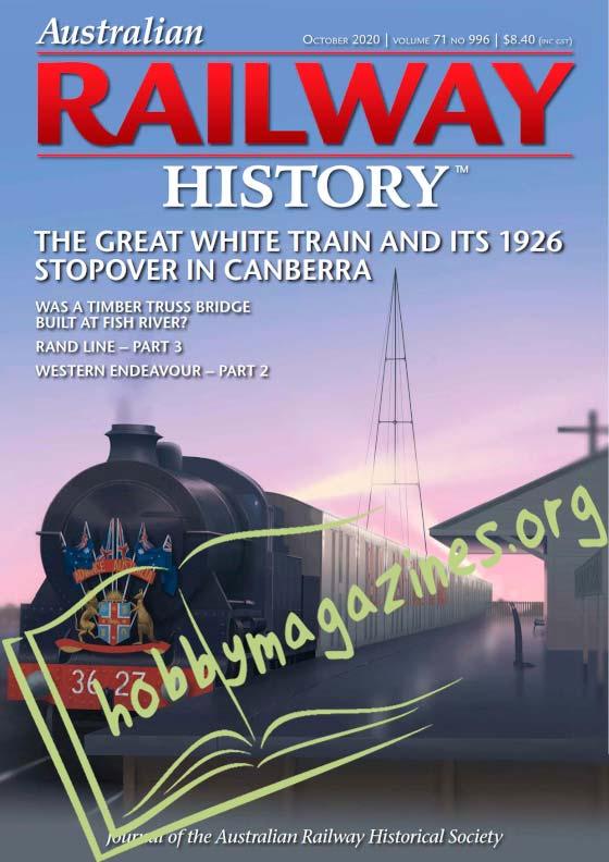 Australian Railway History - October 2020