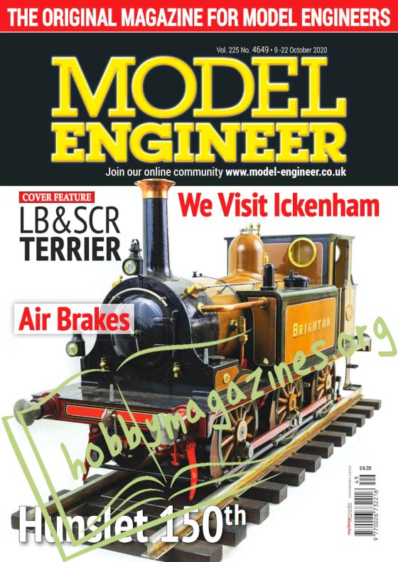 Model Engineer 4649 - 9 October 2020