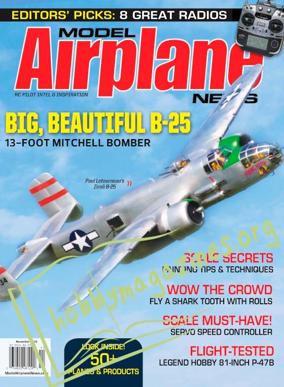 Model Airplane News - November 2020