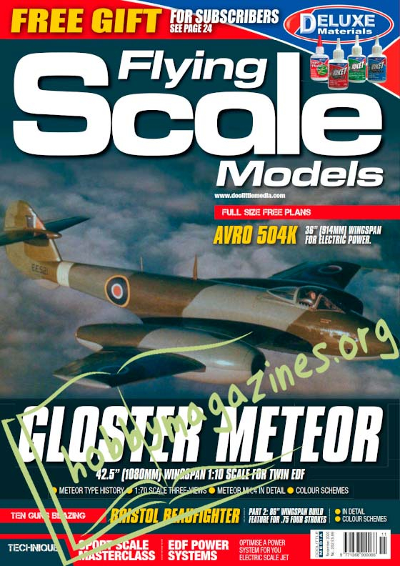 Flying Scale Models - November 2020