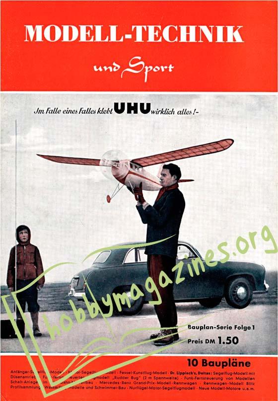 Flugmodell und Technik Issue 1 ,1952
